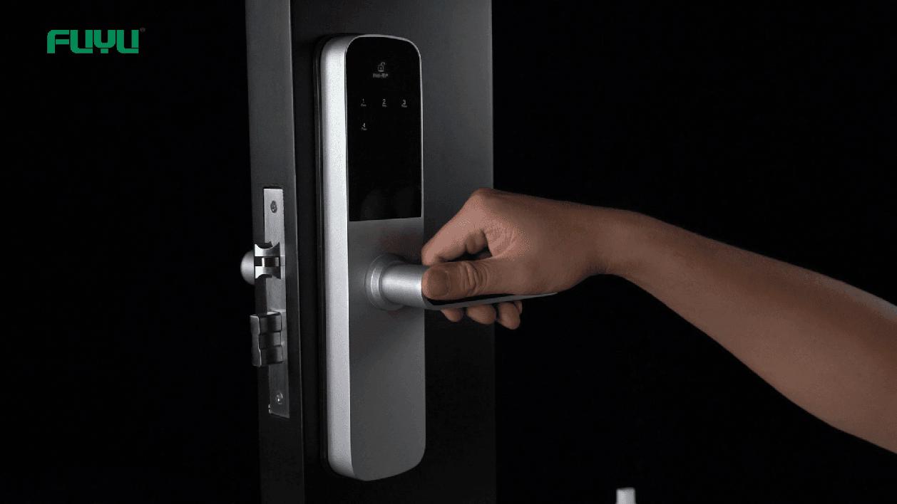 Smart door lock 6505 mini demonstration