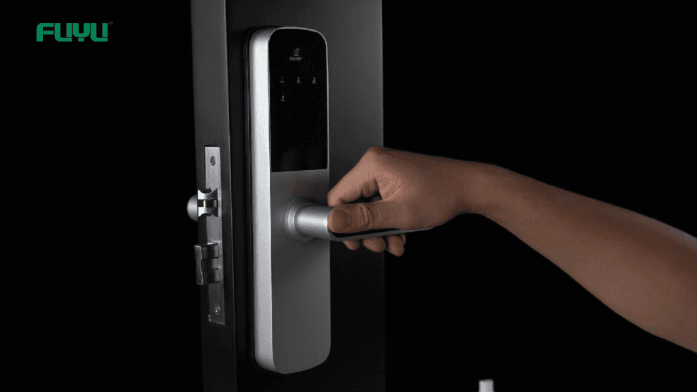 Smart door lock 6505 mini demonstration