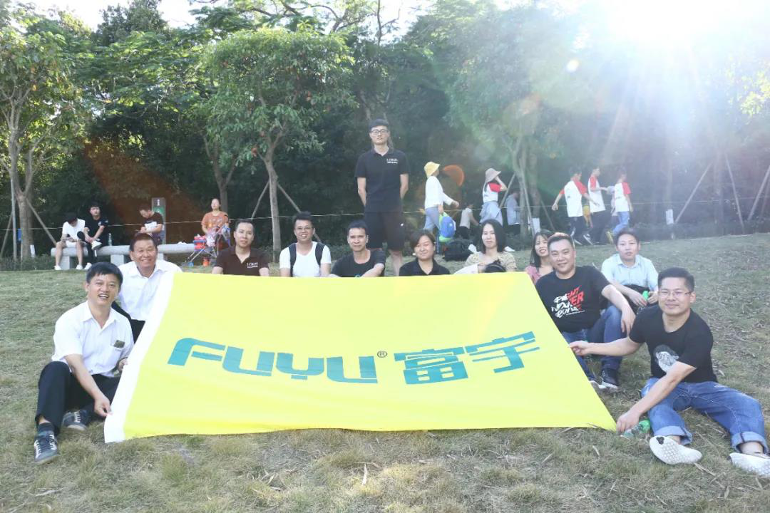 news-FUYU-Concentrate on the efforts丨FUYU electronic door locks team activity-one-day trip to Jinzho