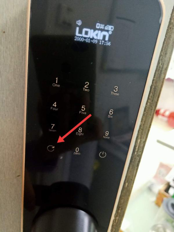 news-FUYU-How to add a new fingerprint to the smart lock-img