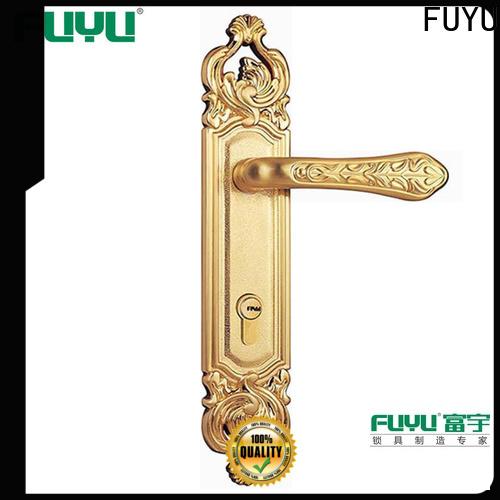 FUYU durable bedroom double door lock suppliers for residential