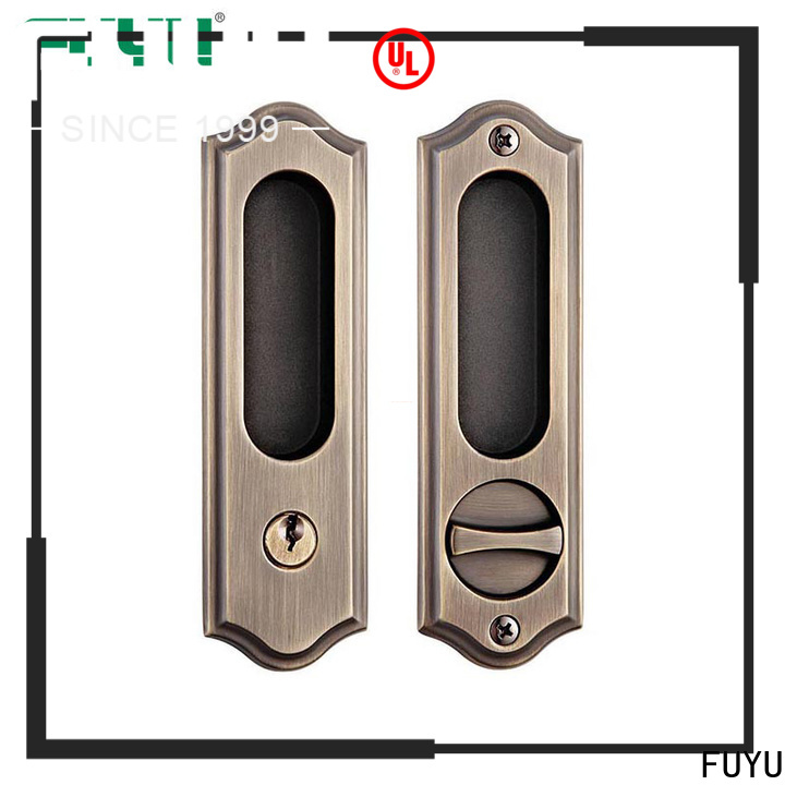 FUYU diecasting security door locks for homes in china for mall