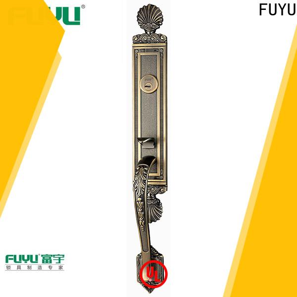 FUYU durable security locks for double doors supply for wooden door