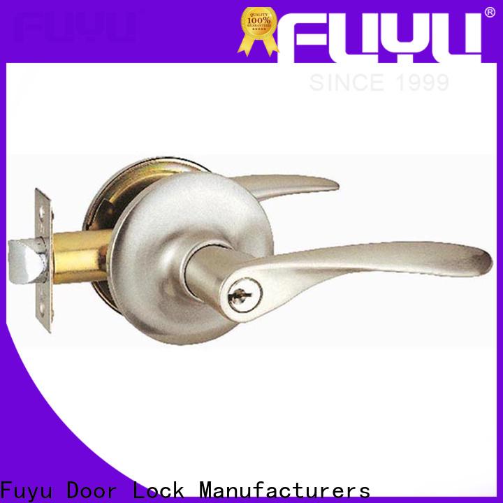 FUYU durable gate deadbolt locks with latch for entry door