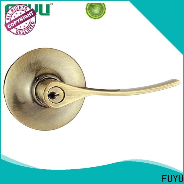 FUYU china modern keyless door locks extremely security for toilet