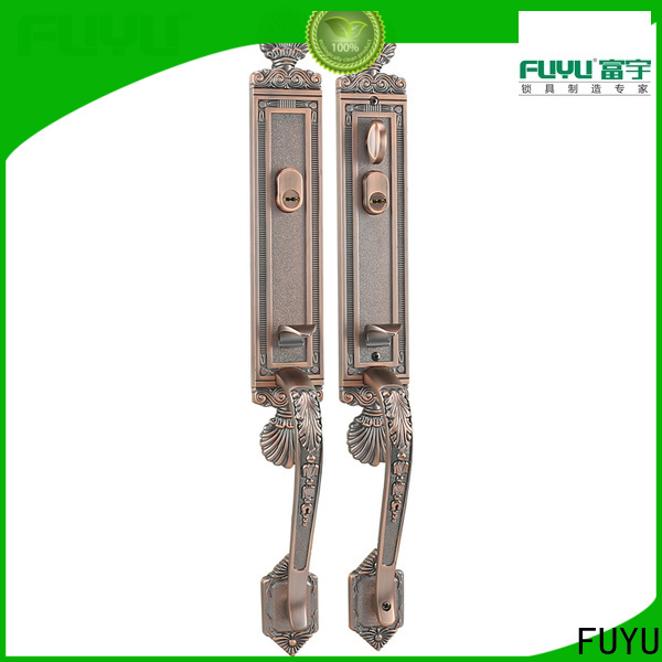 FUYU durable french door lock sets company for shop