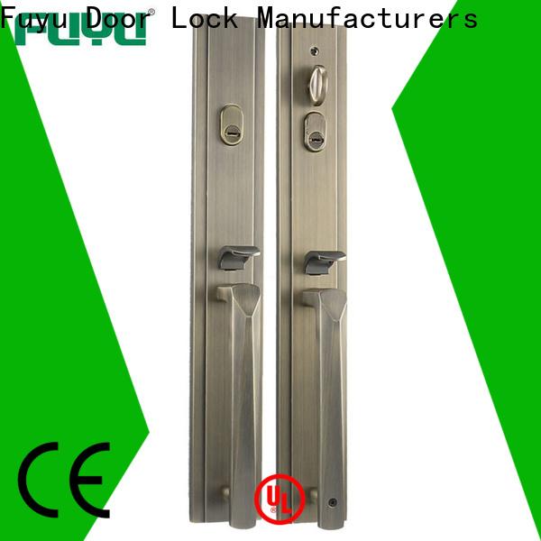 FUYU custom custom zinc alloy door lock factory for indoor