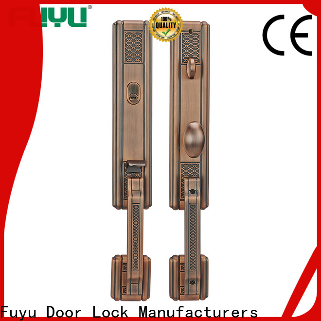 FUYU black french door security lock on sale for mall