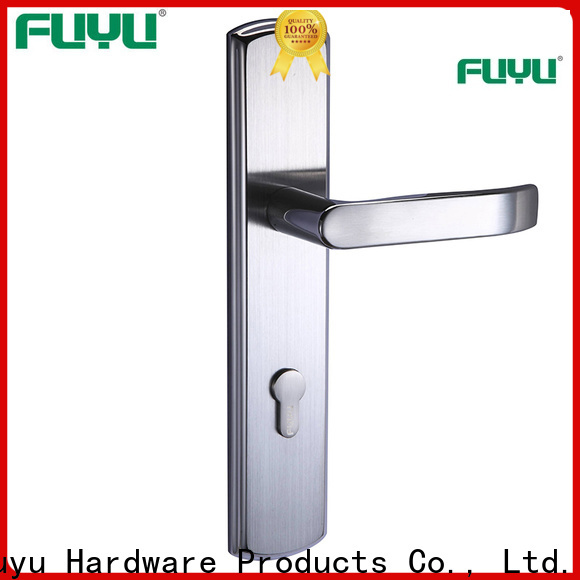 FUYU latest secure front door locks in china for shop