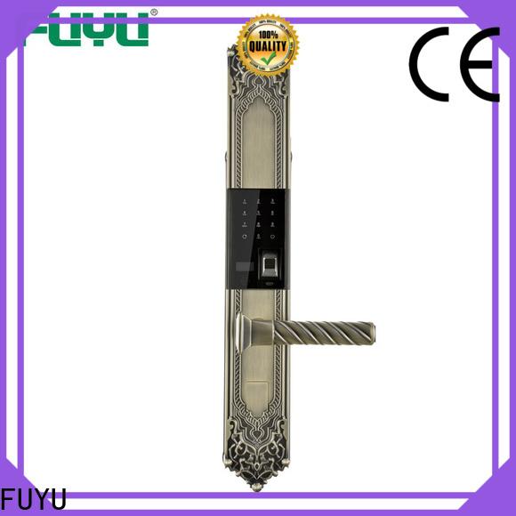 FUYU custom keyless front door lock in china for home
