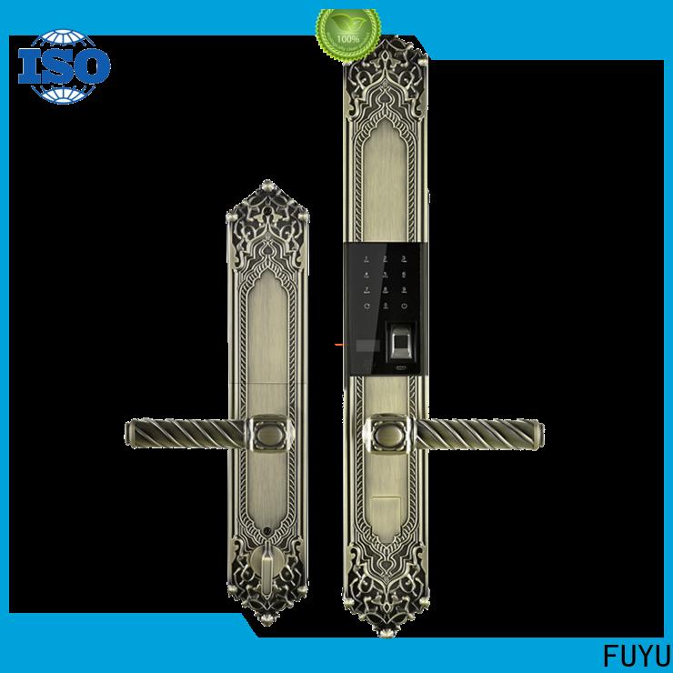 high security keyless smart lock factory for wooden door