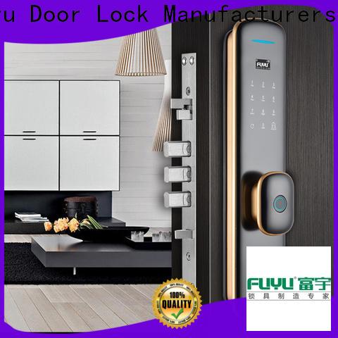 FUYU durable thumbprint door lock supply for wooden door