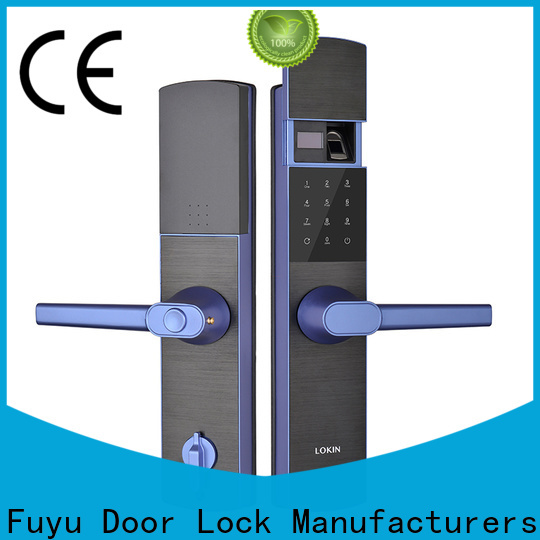 FUYU gate door lock extremely security for mall