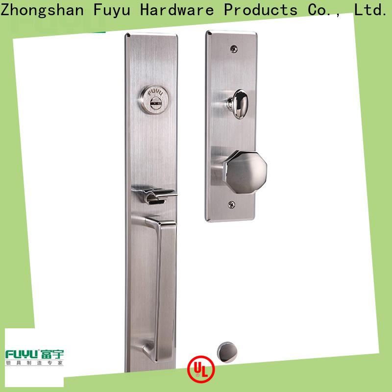 FUYU lock double sided deadbolt locks suppliers for mall