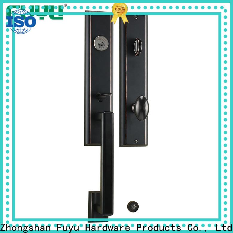 FUYU latest reinforce door lock with latch for entry door