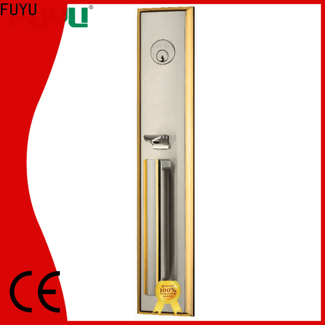 FUYU iron home depot entry locks with latch for entry door