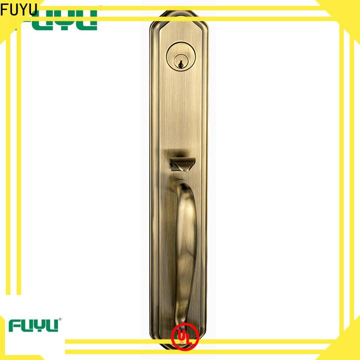 FUYU fit zinc alloy handle door lock suppliers for indoor