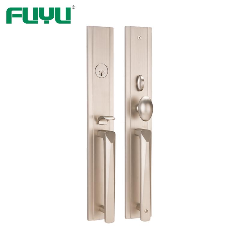 Grip American Mortise Cylinder Types Zinc Alloy Outside Door Locks Set