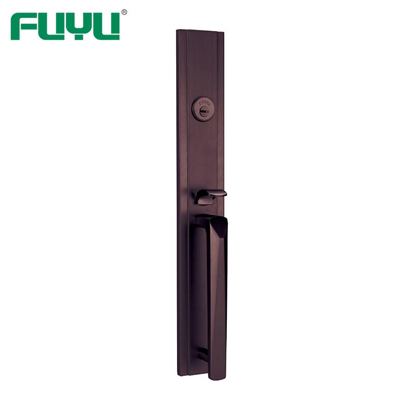 product-FUYU-Grip American Mortise Cylinder Types Zinc Alloy Outside Door Locks Set-img-1