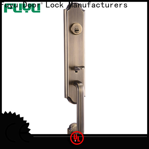 FUYU high-quality security locks for double doors for business for mall