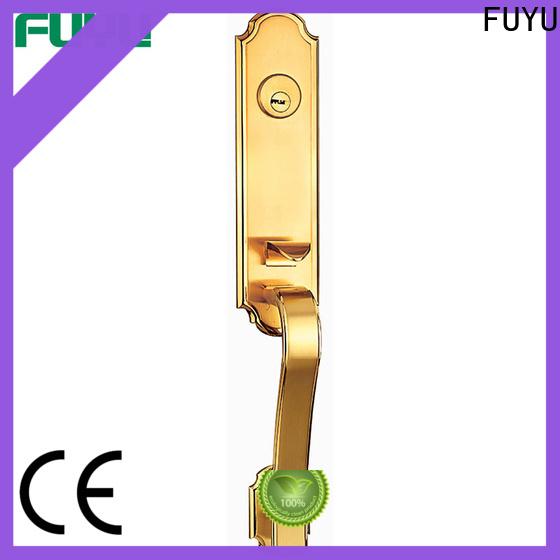 FUYU exterior double door locks suppliers for wooden door