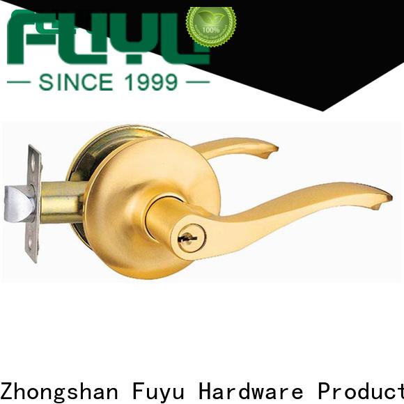 custom zinc alloy door lock for wooden door install for business for indoor