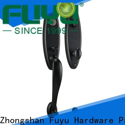 FUYU cylinder zinc alloy entrance door lock for sale for indoor