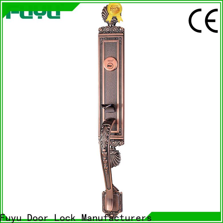FUYU top door lock design on sale for entry door