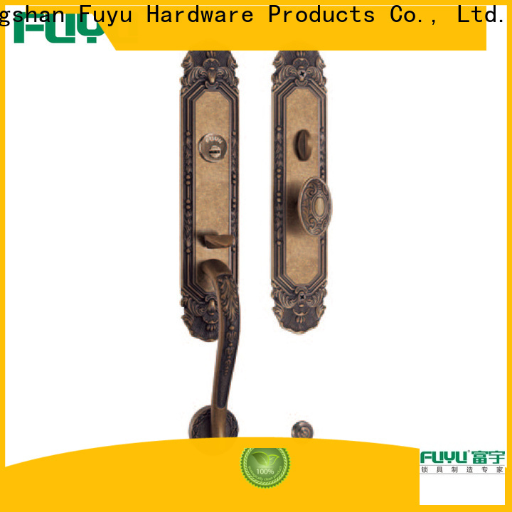 fuyu best door security lock in china for mall