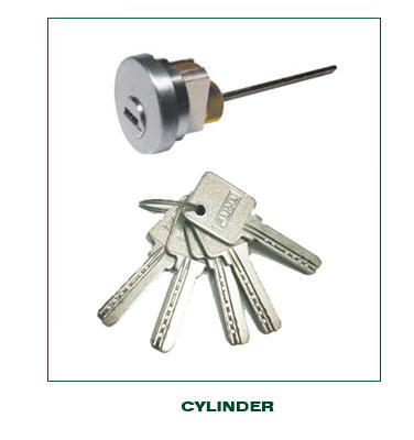 quality zinc alloy door lock for metal door year with latch for shop-3