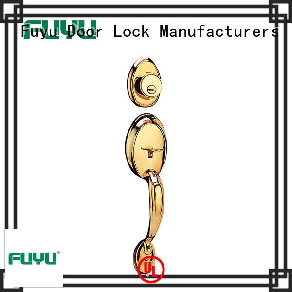 FUYU key american style zinc alloy door lock meet your demands for indoor