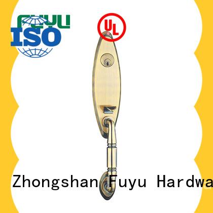 FUYU high security zinc alloy villa door lock install for mall
