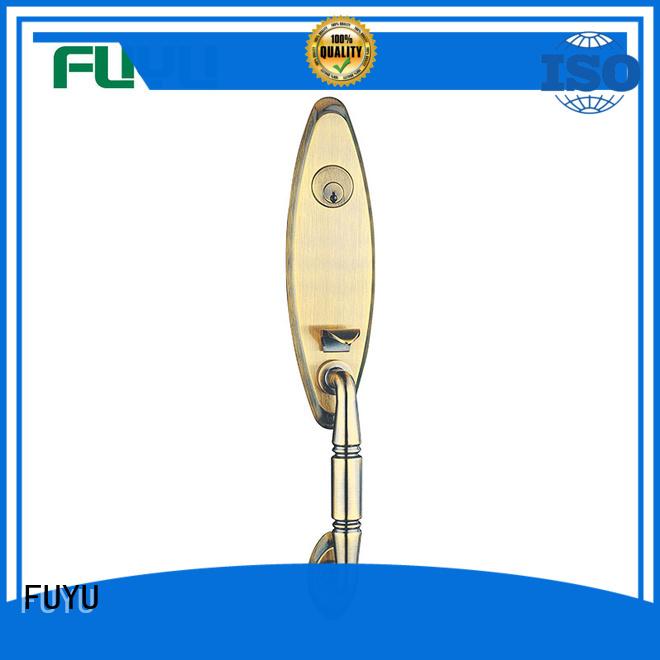 FUYU custom grip handle door lock for sale for shop