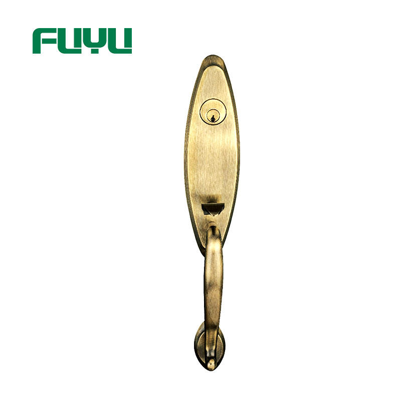 Solid Zinc Alloy Italy Entry Handle Door Locks