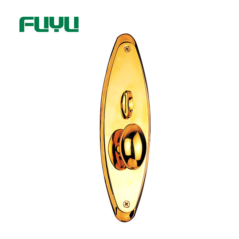FUYU plate customized zinc alloy door lock with latch for indoor-2