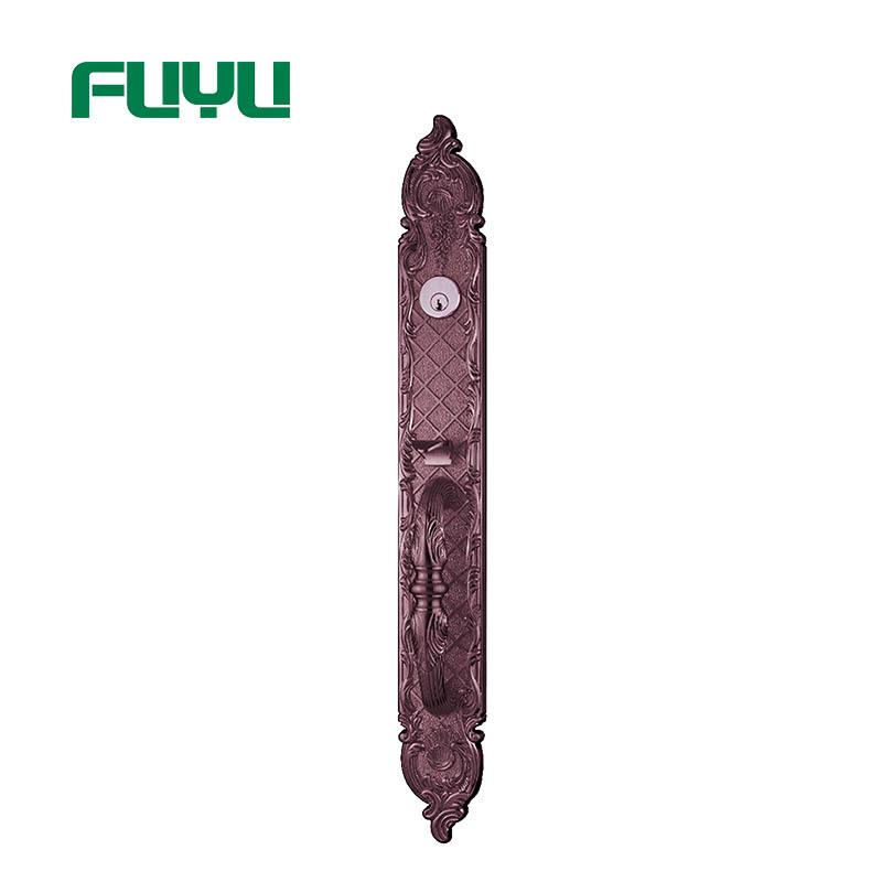 New 2018 best selling security external door handle china products door lock