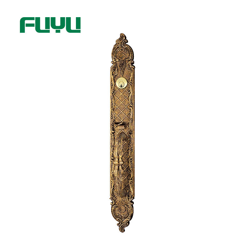 color lock zinc alloy door lock plain alloy FUYU company
