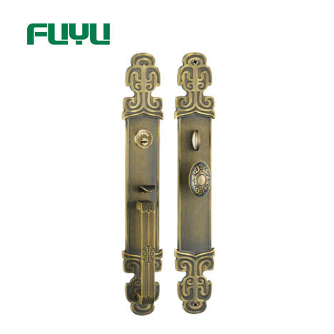 High quality luxury zinc material American mortise type handle door lock