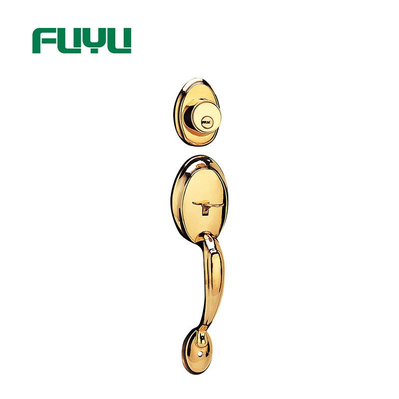 FUYU quality handle door lock for sale for wooden door