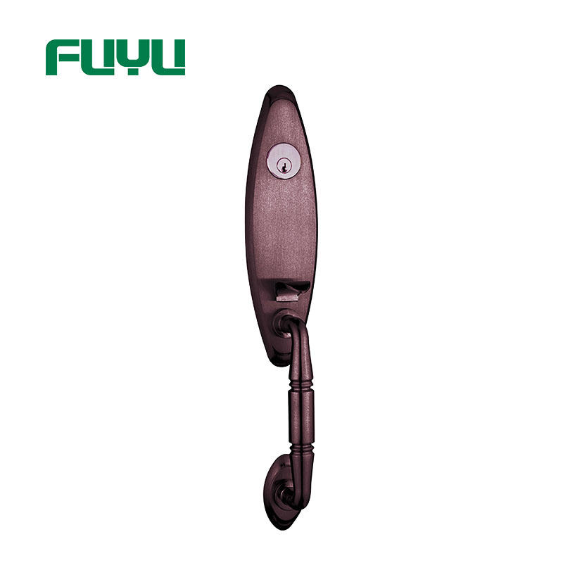 FUYU profile zinc alloy door lock with latch for mall