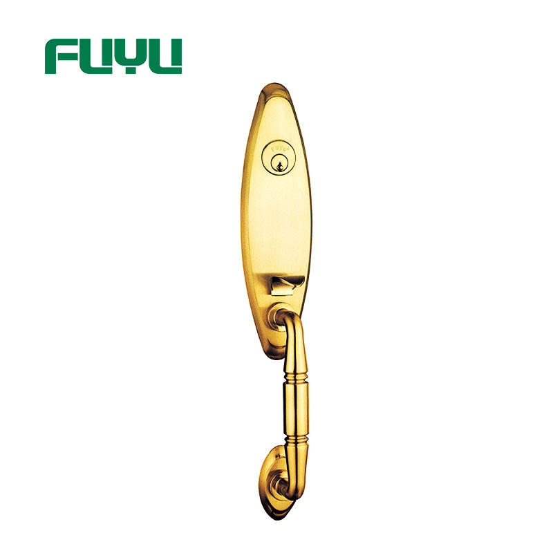 FUYU exterior five lever lock with latch for entry door