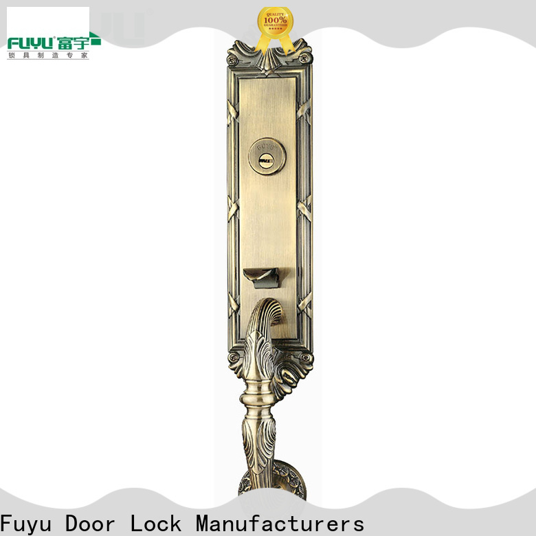 FUYU locks zinc alloy mortise door lock with latch for entry door
