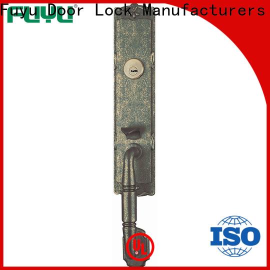 FUYU residence zinc alloy mortise handle door lock on sale for entry door
