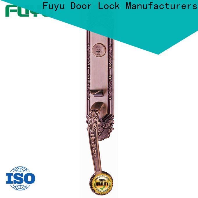 FUYU turn customized zinc alloy door lock meet your demands for mall