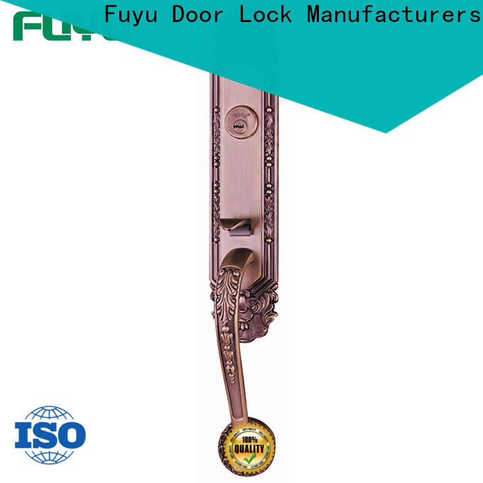 FUYU turn customized zinc alloy door lock meet your demands for mall