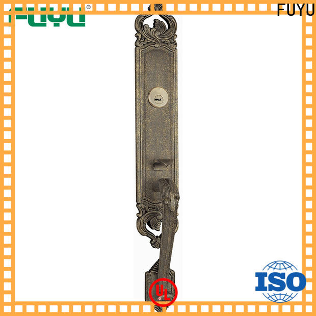 FUYU high security 5 lever lock with latch for shop