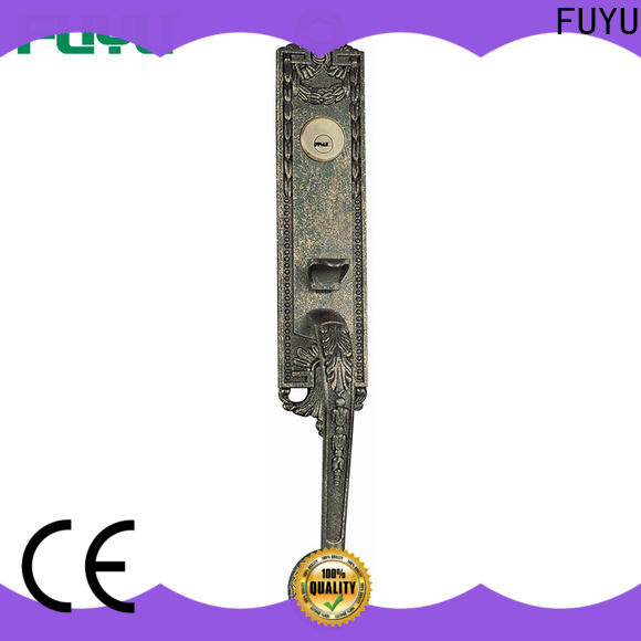FUYU oem zinc alloy entry door lock with latch for indoor