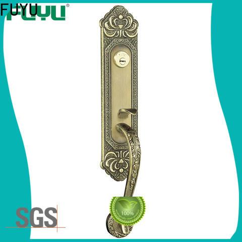 FUYU sale zinc alloy entrance door lock meet your demands for shop