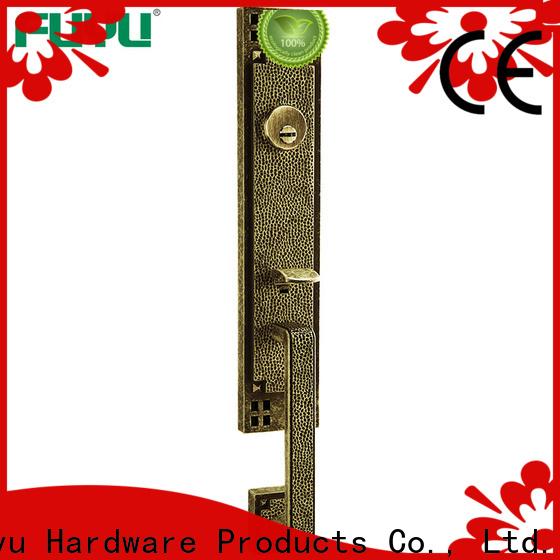 FUYU plain anti-theft zinc alloy door lock meet your demands for shop