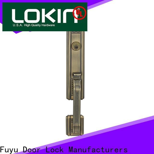 durable home door locks test with latch for indoor